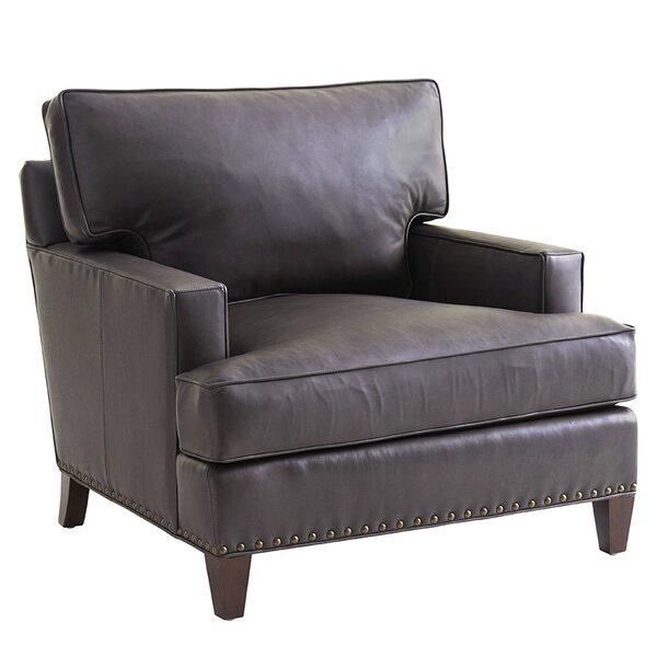 Zavala Hughes Leather Club Chair by Lexington