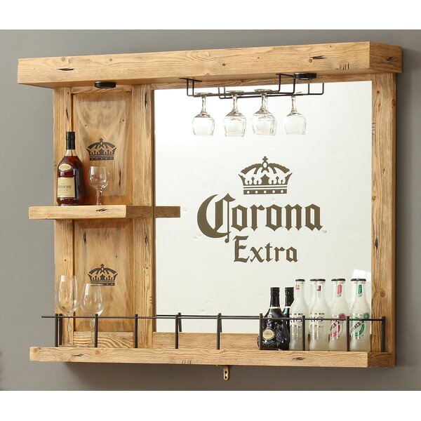 Corona Wall Bar with Wine Storage by ECI Furniture ECI Furniture