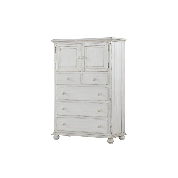 Reyna 4 Drawer Combo Dresser by Ophelia & Co.