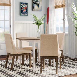 Kinsey Modern 5 Piece Drop Leaf Dining Set By Rosecliff Heights