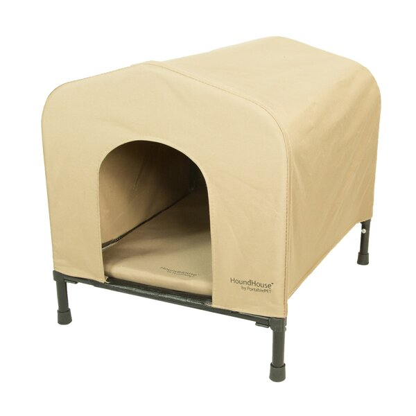 PortablePET Fabric and Steel Collapsible Yard Kennel Dog House by Heininger Holdings LLC