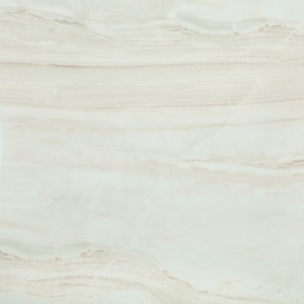 British Jade Full Polished Glazed Porcelain Field Tile in Beige by Multile