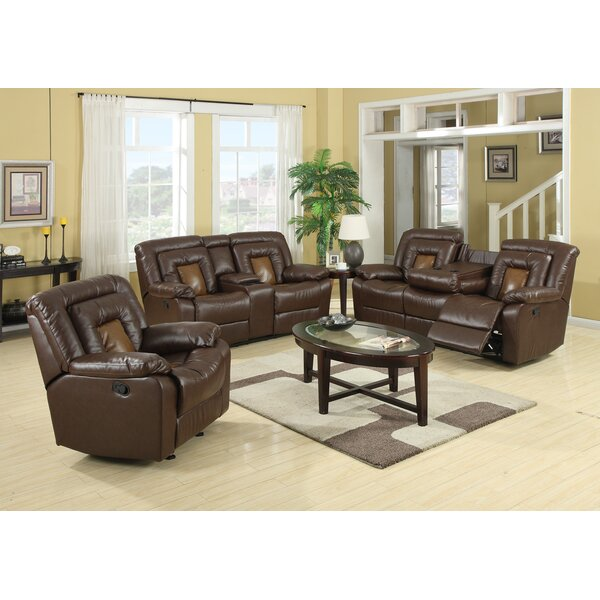 Kmax Reclining Configurable Living Room Set by Roundhill Furniture