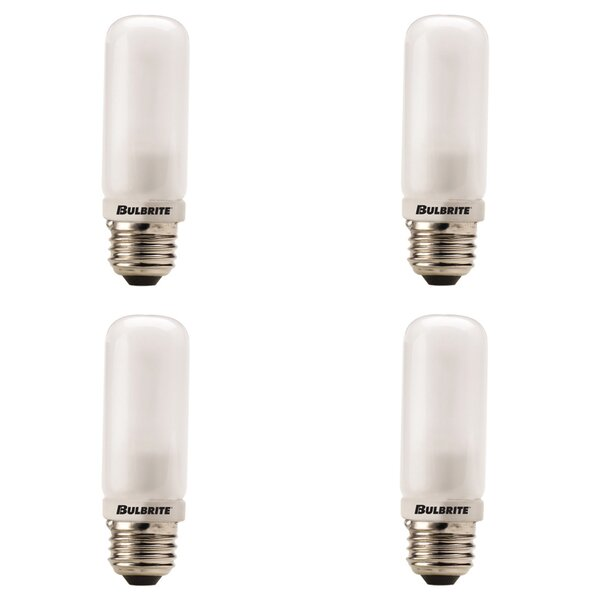 250W E26 Dimmable Halogen Light Bulb (Set of 4) by Bulbrite Industries
