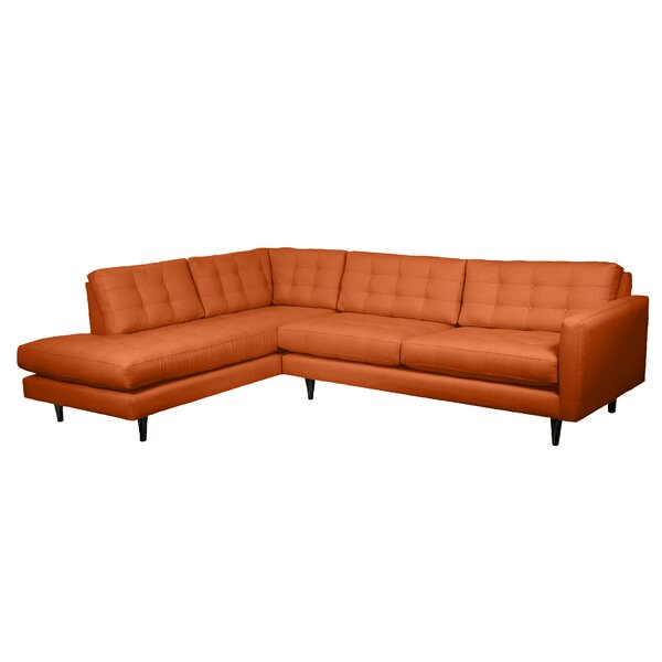 Search Sale Prices Mid-Century Left Hand Facing Sectional by Loni M Designs by Loni M Designs
