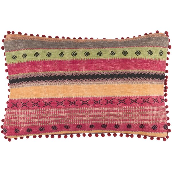 Cammi Striped Cotton Throw Pillow by Mistana