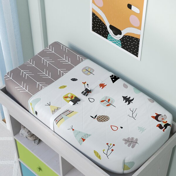 Outdoor Adventure Changing Pad Cover by Sweet Jojo Designs