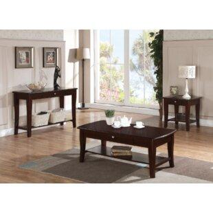 Pernelia 3 Piece Coffee Table Set Red Barrel Studio