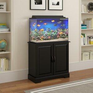 harbor gallon cabinet aquarium stand