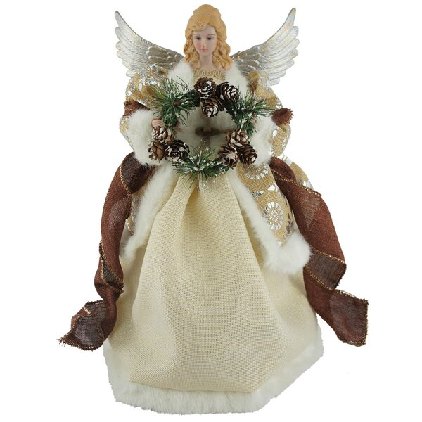 16 Earthly Angel Tree Topper by The Holiday Aisle