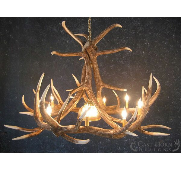 Alizeh 10-Light Candle Style Wagon Wheel Chandelier By Millwood Pines