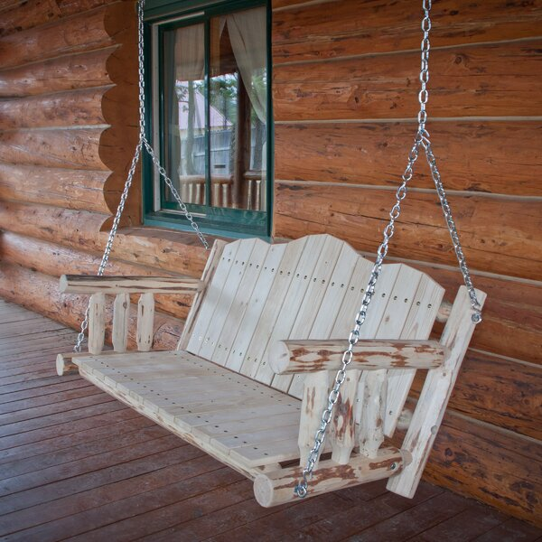 Tustin Porch Swing by Loon Peak