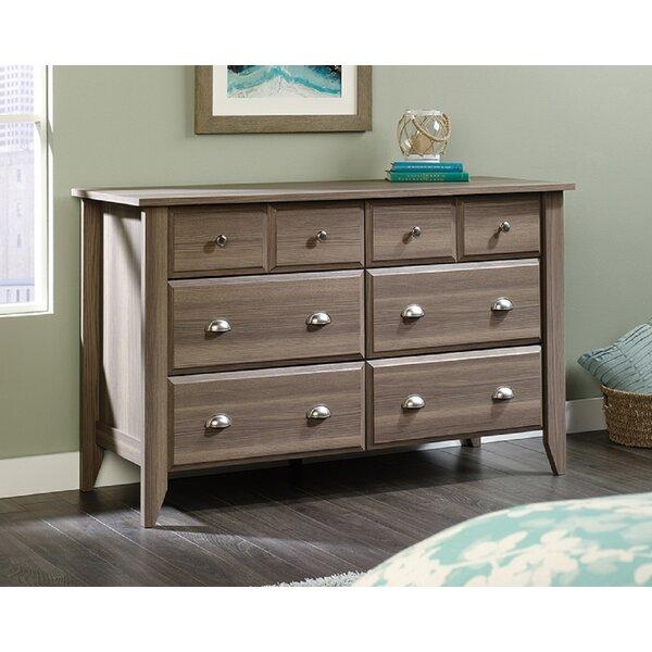 Bopp 6 Drawer Double Dresser by Gracie Oaks