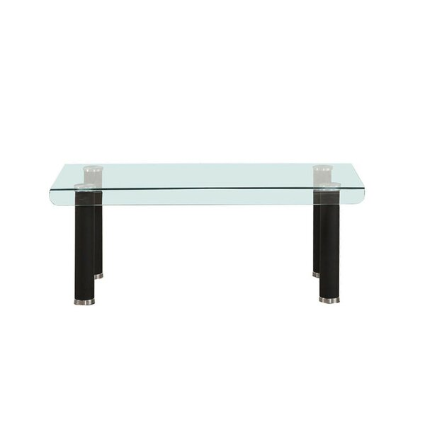 Sthilaire Tempered Glass Top Coffee Table By Orren Ellis
