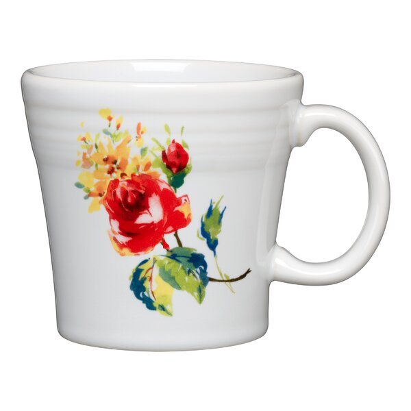 Tapered Mug Floral Bouquet by Fiesta