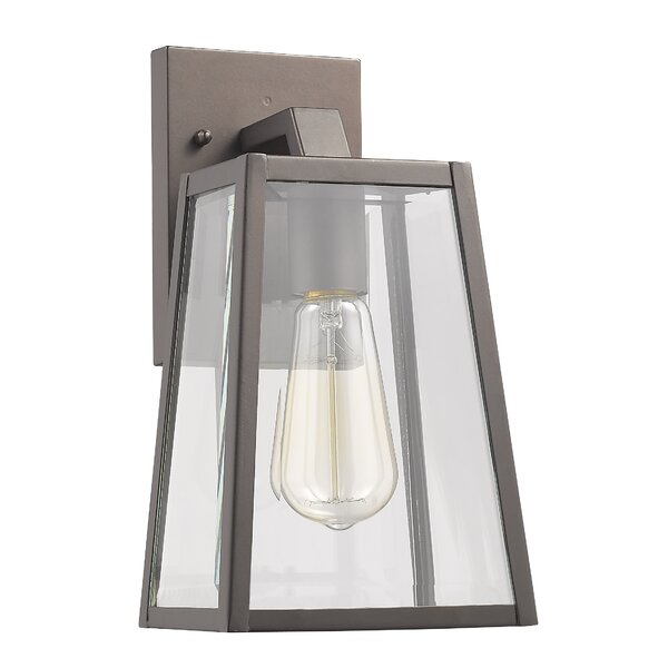 Brill Outdoor Wall Lantern by Mercury Row