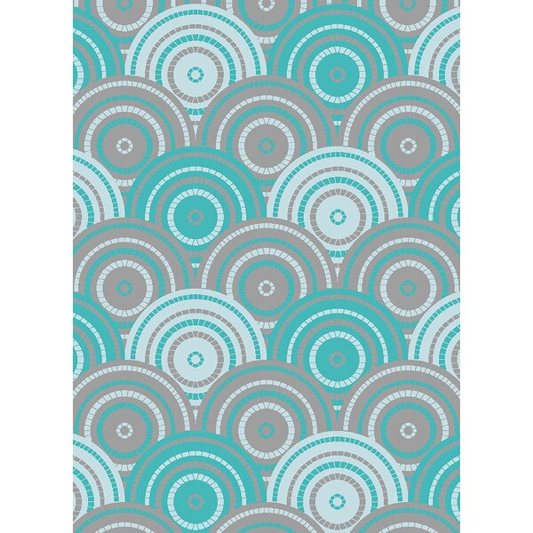 Maggard Turquoise Area Rug by Latitude Run