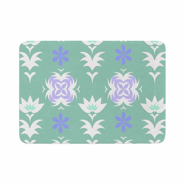 Alison Coxon Edwardian Tile Memory Foam Bath Rug by East Urban Home