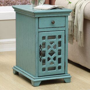 Mauldin End Table with Storage Lark Manor