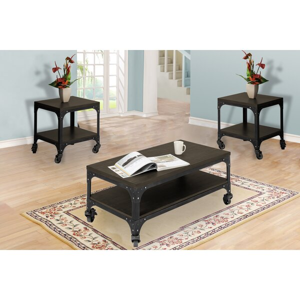 Burchette 3 Piece Coffee Table Set by Williston Forge Williston Forge