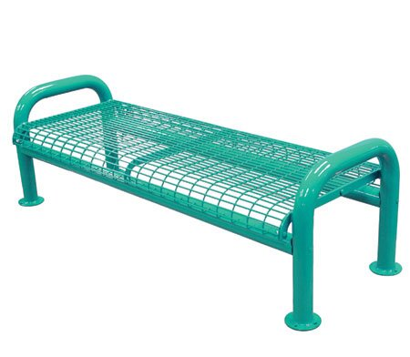 U-Leg Metal Picnic Bench by Leisure Craft