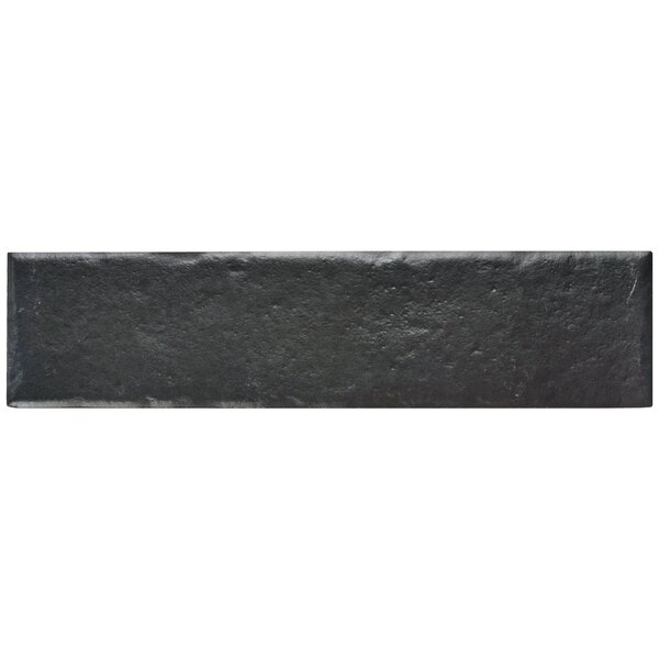 Williamsburg 2.38 x 9.5 Porcelain Field Tile in Black by EliteTile
