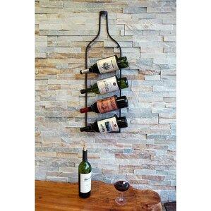4 Bottle Wall Mounted Wine Rack by Welland LLC