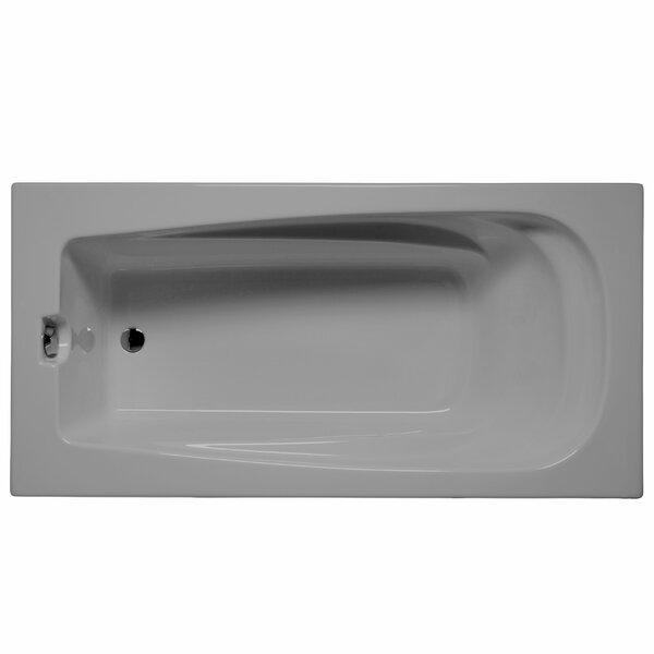 Fairfield 60 x 32 Whirlpool and Air Jet Bathtub by Malibu Home Inc.