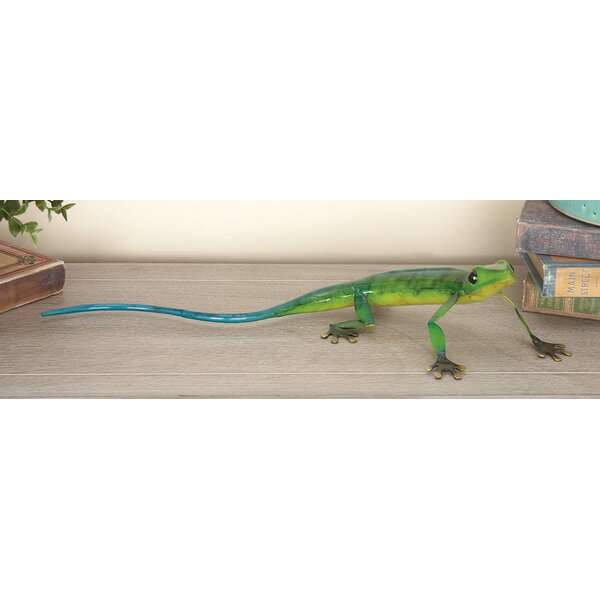 Felles Eclectic Lizard Sculpture (Set of 2) by Bay Isle Home