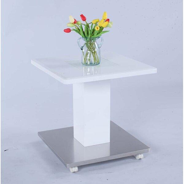 Ilia End Table by Orren Ellis Orren Ellis