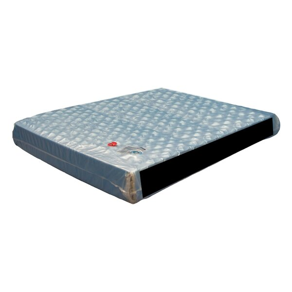 Double Wall Leak Proof Patented Hydro-Support 500 9 inch Hard-side Waterbed Mattress 0 Layer Full Motion by Strobel Mattress