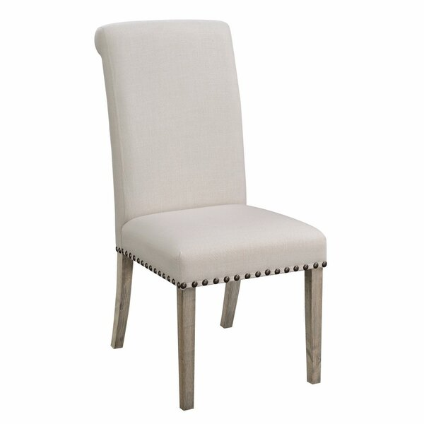 Restormel Rolled Back Parson Upholstered Dining Chair (Set of 2) by Gracie Oaks