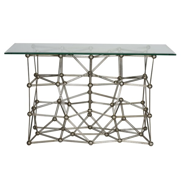 Iron Console Table By Worlds Away