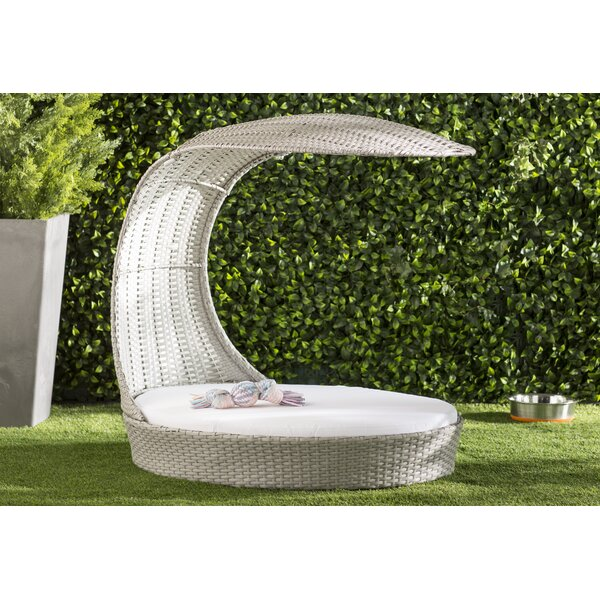 Clara Outdoor Hooded Dog Chaise Lounge by Archie & Oscar