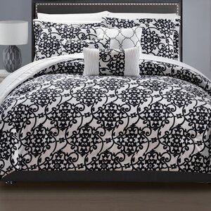 Lea 10 Piece Reversible Comforter Set