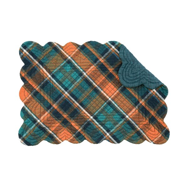 Jemma Plaid 19 Placemat by Millwood Pines