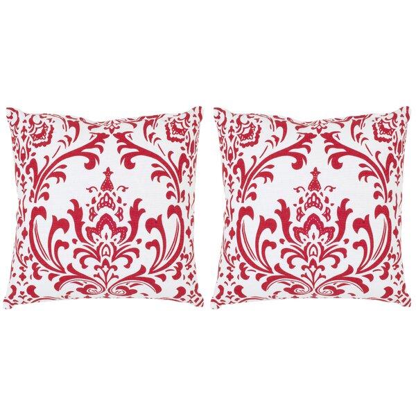 Belos Cotton Decorative Cotton Throw Pillow (Set of 2) by Safavieh