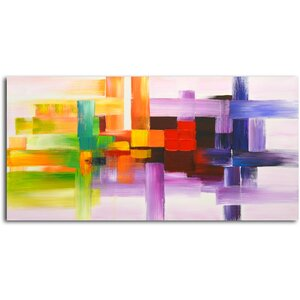 'Derivitives of Color' Painting on Canvas by Latitude Run