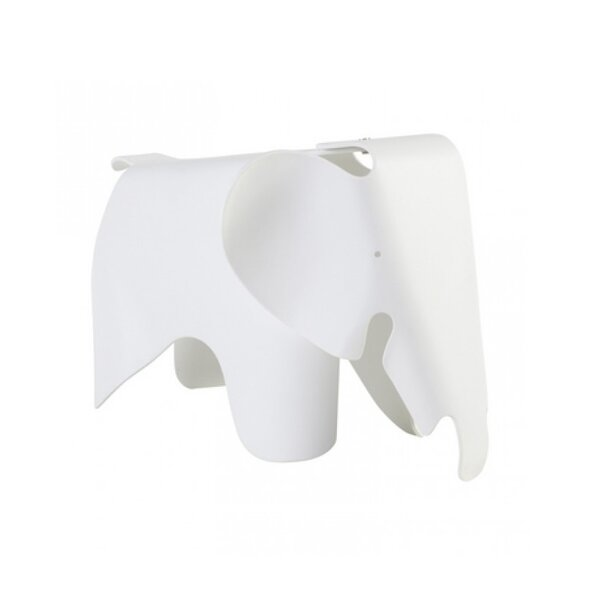 Custis Plastic Elephant Accent Stool by Harriet Bee