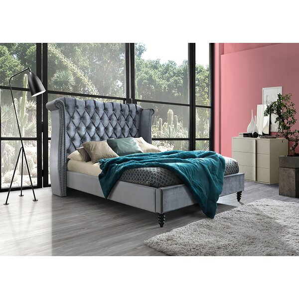 Brunswick Upholstered Platform Bed by Canora Grey