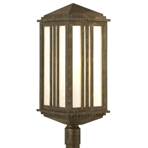 Petrey 1 Light 31 Post Lantern by Alcott Hill