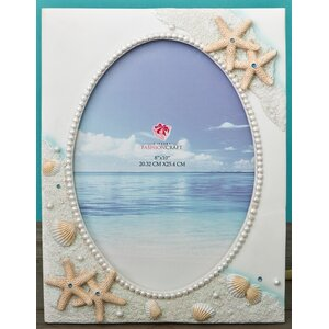 Hand Painted Beach Picture Frame