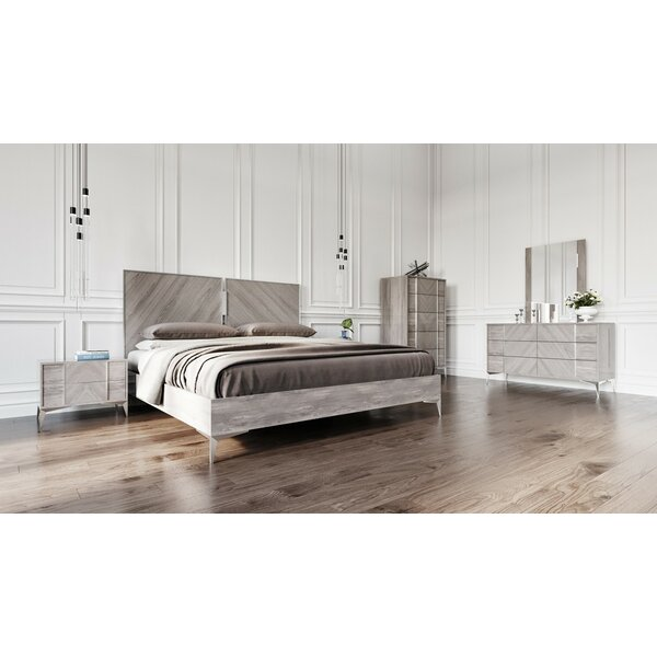 Labombard Modern 5 Piece Platform Bedroom Set by Brayden Studio