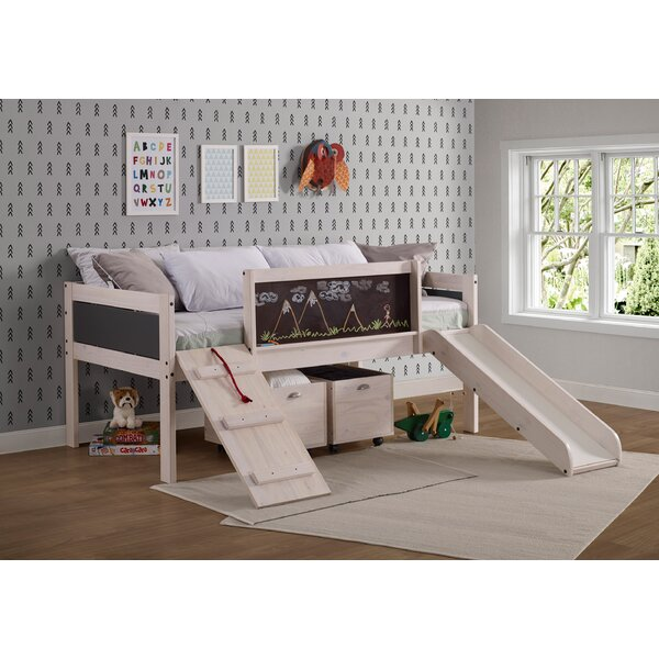 Schlemmer Twin Low Loft Bed with Drawers by Zoomie Kids