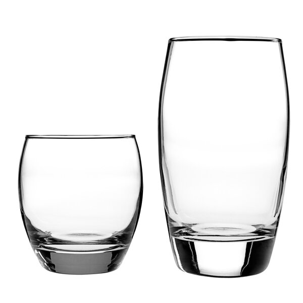 Reality 16 Piece Drinkware Set by Anchor Hocking