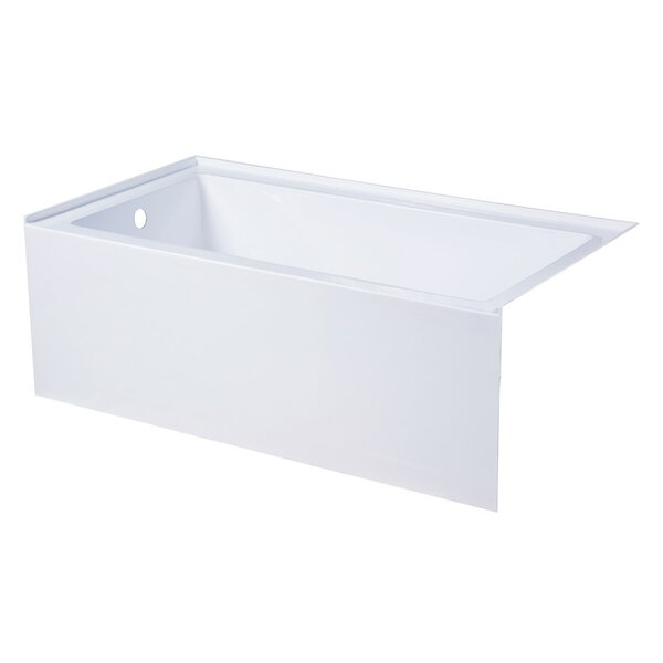 Aqua Eden 54'' x 30'' Alcove Soaking Bathtub by Kingston Brass