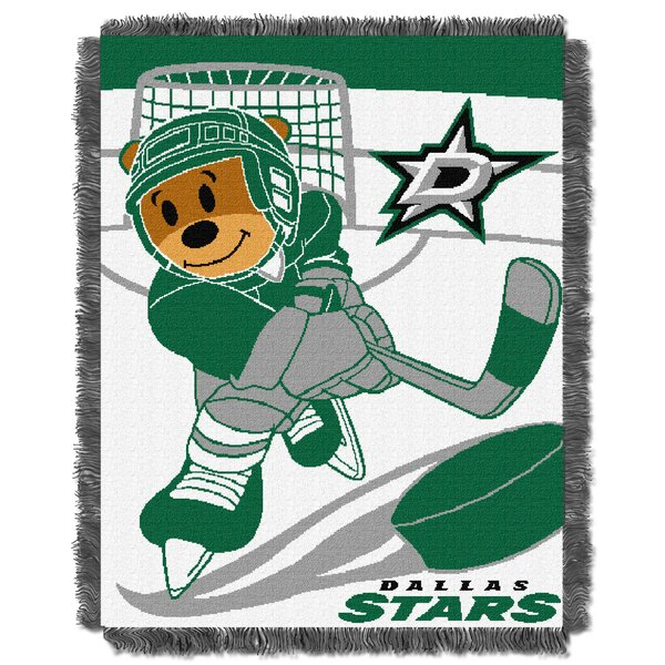 NHL Stars Baby Woven Throw Blanket by Northwest Co.