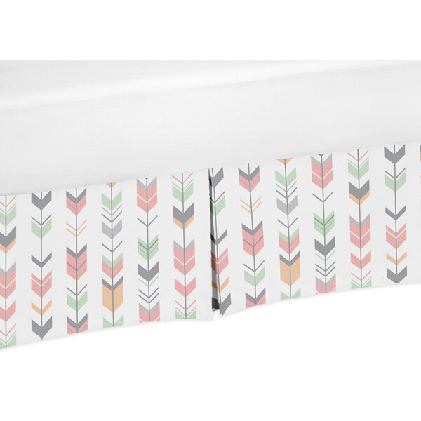 Mod Arrow Crib Skirt by Sweet Jojo Designs