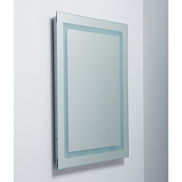 Easter Compton Modern & Contemporary Frameless Lighted Bathroom / Vanity Mirror