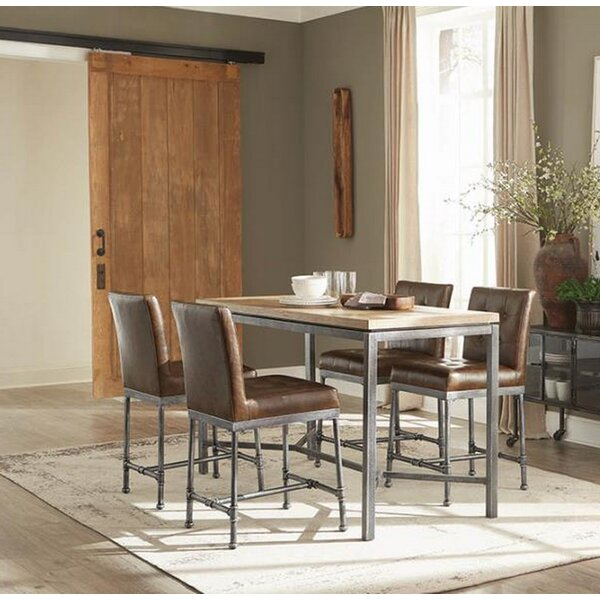 Modern Barbera 5 Piece Pub Table Set By 17 Stories Herry Up